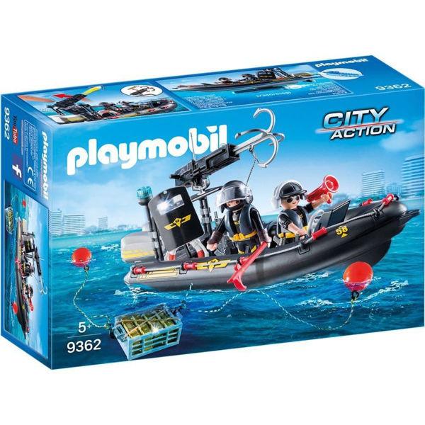 Playmobil Ταχύπλοο Ομάδας Ειδικών Αποστολών (9362)