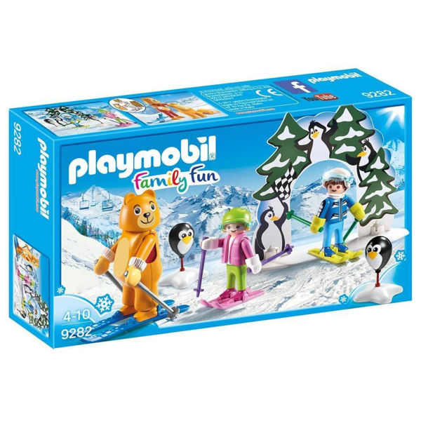 Playmobil Εκπαιδευτής Σκι Με Παιδάκια (9282)