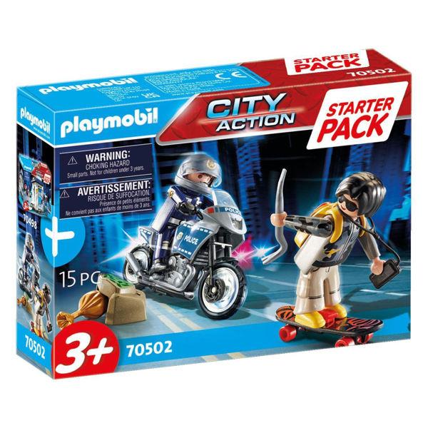 Playmobil Starter Pack Αστυνομική Καταδίωξη (70502)