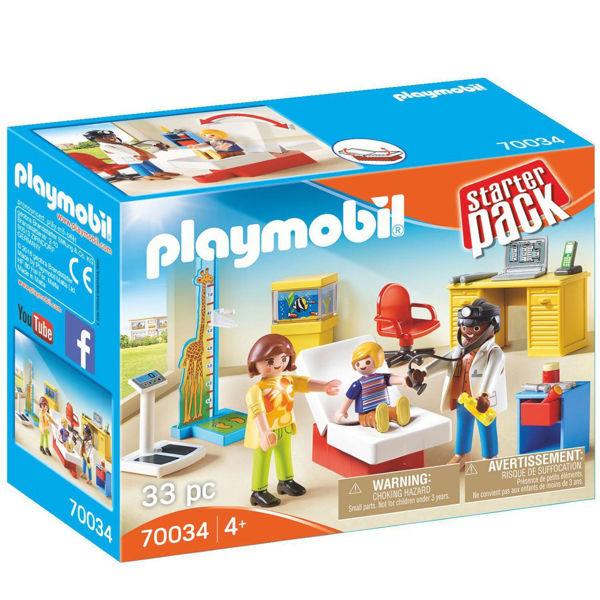 Playmobil Παιδιατρείο (70034)
