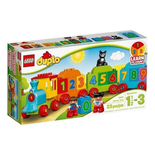 Λαμπάδα Lego Duplo Number Train (10847)