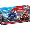 Playmobil Police Action Αστυνομική Καταδίωξη Μηχανών (70462)