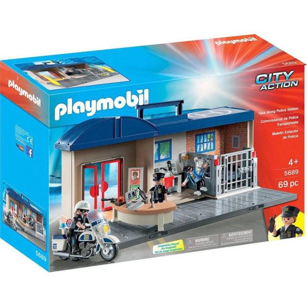Playmobil Βαλιτσάκι Αστυνομικό Τμήμα (5689)