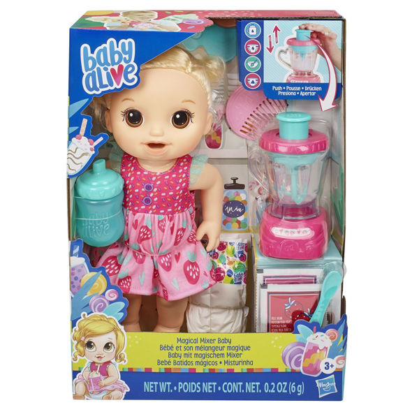 Baby Alive Magical Mixer Baby Strawberry (E6943)