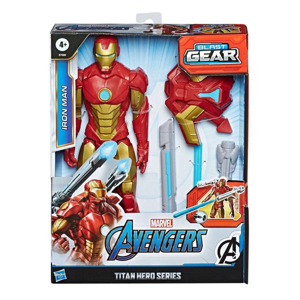 Avengers Titan Hero Blast Gear Iron Man (E7380)