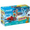 Playmobil Scooby-Doo Περιπέτεια Με Τον Snow Ghost (70706)