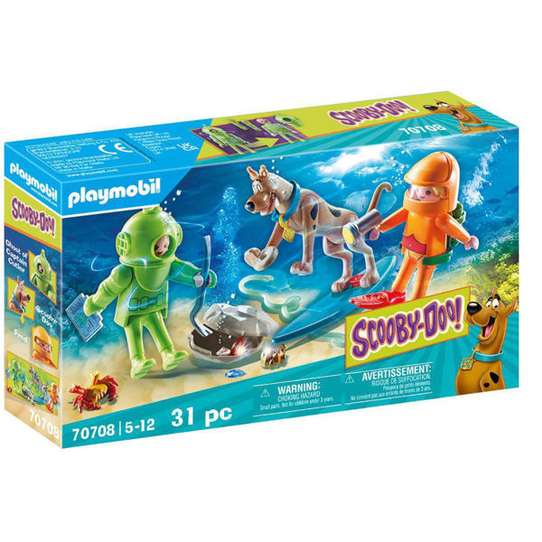 Playmobil Scooby-Doo Περιπέτεια Με Τον Ghost Diver (70708)