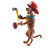 Playmobil Scooby-Doo Συλλεκτική Φιγούρα Scooby Πυροσβέστης (70712)