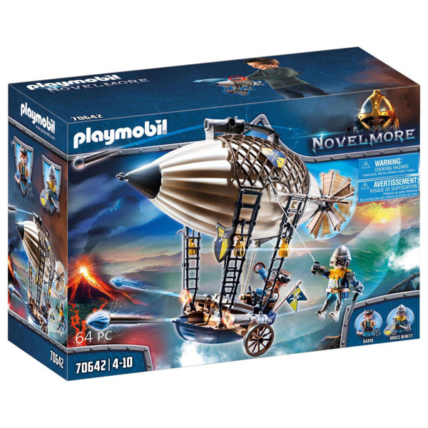 Playmobil Novelmore Ζέπελιν Του Νόβελμορ (70642)
