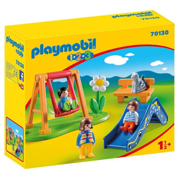 Playmobil 1.2.3. Παιδική Χαρά (70130)