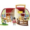 Playmobil 1.2.3. Αχυρώνας-Βαλιτσάκι (70180)