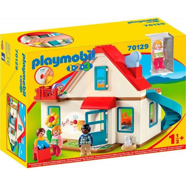 Playmobil 1.2.3. Επιπλωμένο Σπίτι (70129)