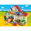 Playmobil 1.2.3. Επιπλωμένο Σπίτι (70129)κ