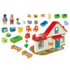 Playmobil 1.2.3. Επιπλωμένο Σπίτι (70129)φ