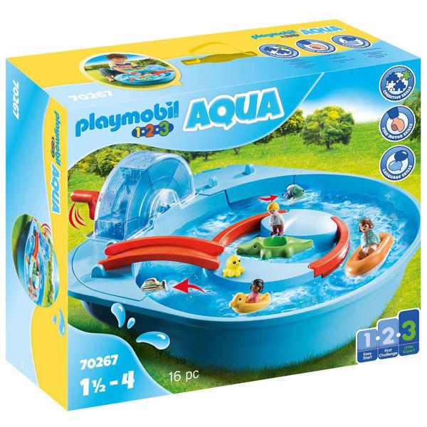 Playmobil 1.2.3. Μεγάλο Aqua Park Με Νερόμυλο (70267)