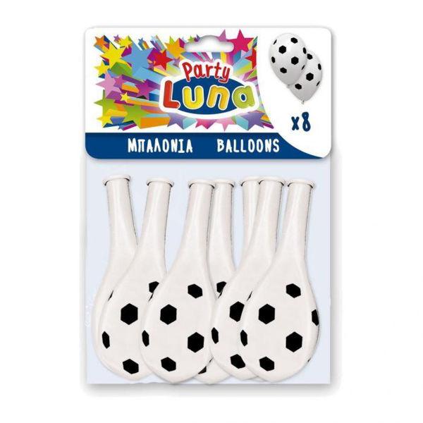 Μπαλόνια Μπάλα Ποδοσφάιρου 8τεμ (0088934)