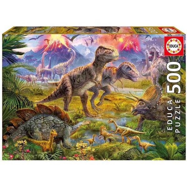 Educa Puzzle Dinosaur Gathering 500τεμ (15969)