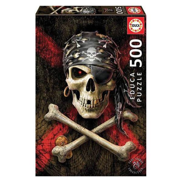 Educa Puzzle Pirate Skull 500τεμ (17964)