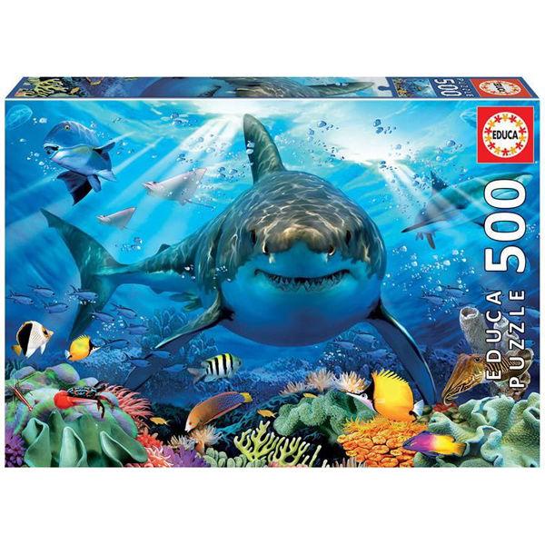 Educa Puzzle Great White Shark 500τεμ (18478)