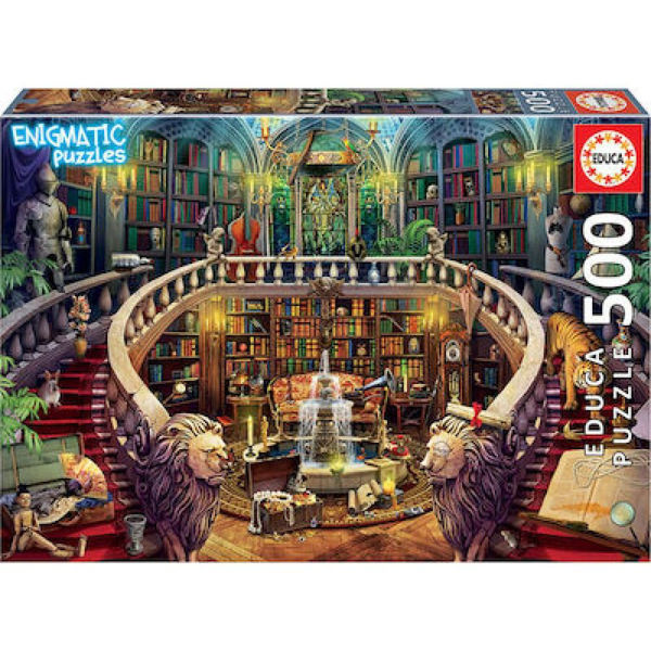 Educa Puzzle Mysterious Old Library 500τεμ (18479)