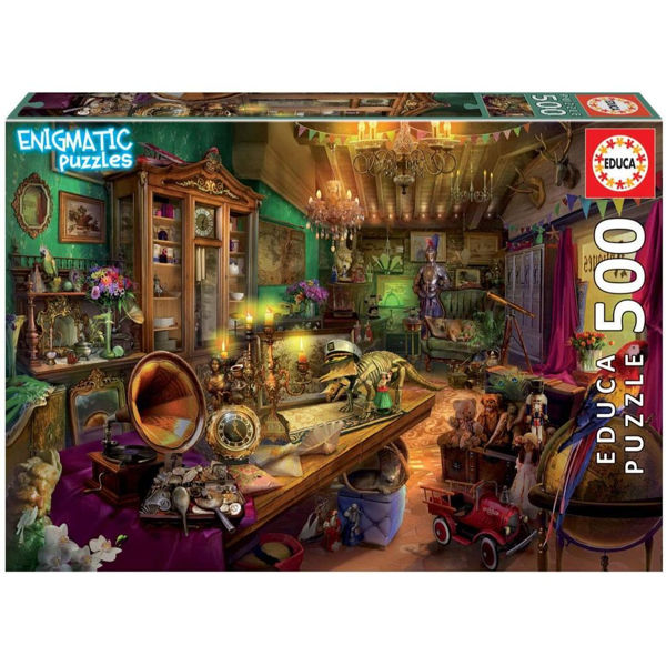 Educa Puzzle Mysterious Antiques Store 500τεμ (18480)