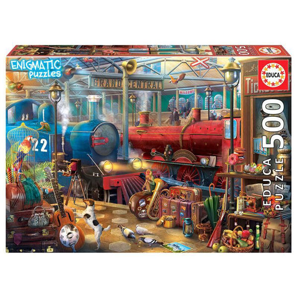 Educa Puzzle Mysterious Train Station 500τεμ (18481)