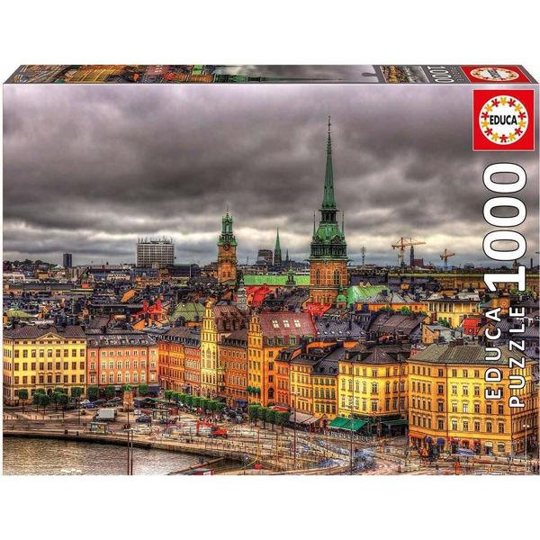 Educa Puzzle Views Of Stockholm 1000τεμ (17664)