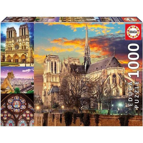Educa Puzzle Notre Dame Collage 1000τεμ (18456)
