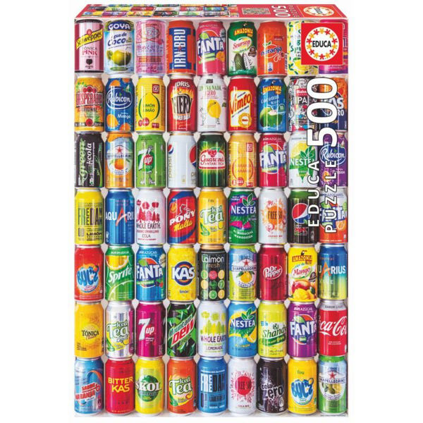 Educa Puzzle Soft Cans 500τεμ (18447)