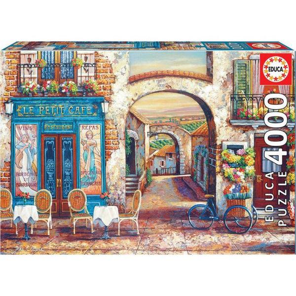 Educa Puzzle Le Petit Cafe 4000τεμ (18014)