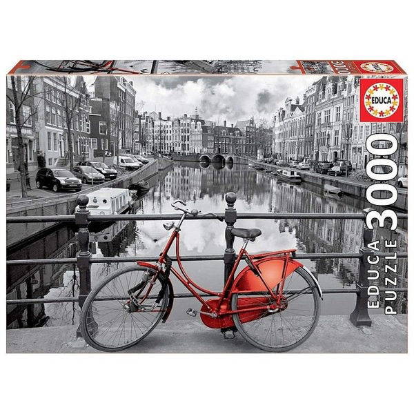 Educa Puzzle Amsterdam B&W 3000τεμ (16018)