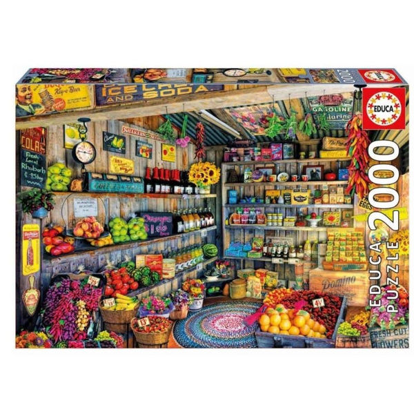Educa Puzzle Grocery Shop 2000τεμ (17128)