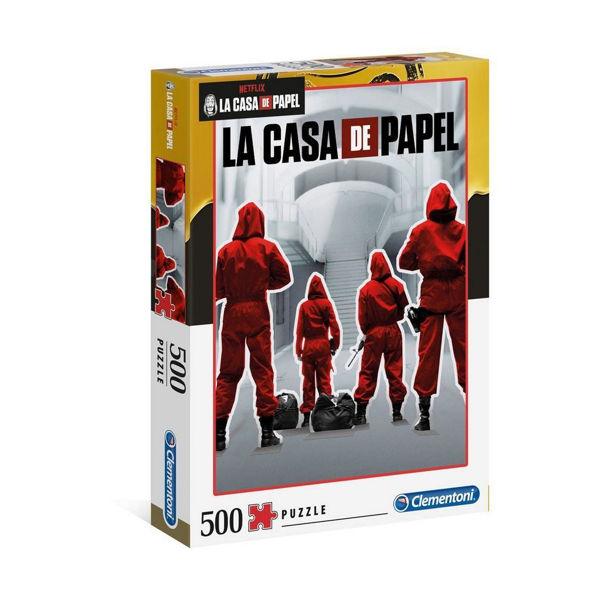 Clementoni Puzzle 500τεμ La Casa De Papel (35084)