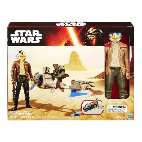 Star Wars E7 Hero Φιγούρα και Όχημα 2 σχ (B3917)