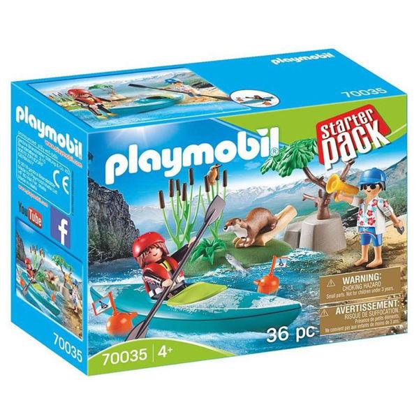 Playmobil Srarter Pack Σχολή Κανό-καγιάκ (70035)
