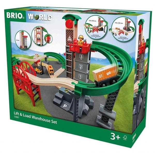 Brio Lift & Load Warehouse Set (33887)