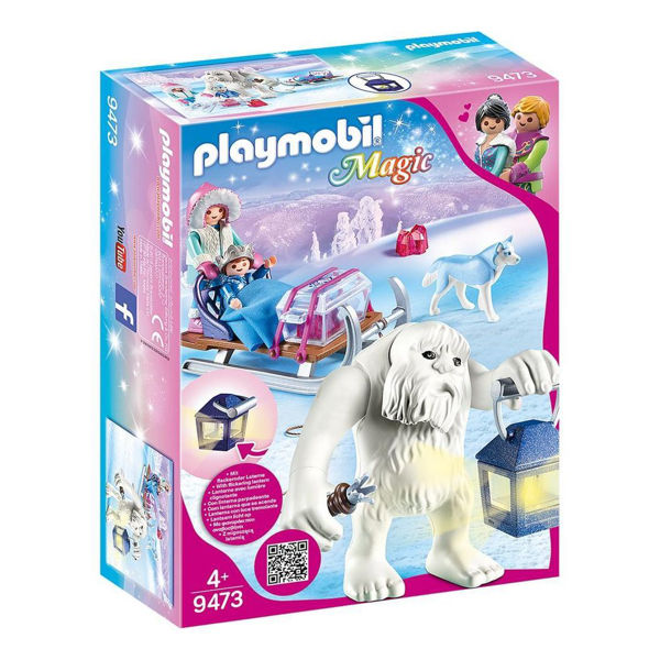 Playmobil Magic Γέτι Με Έλκηθρο (9473)