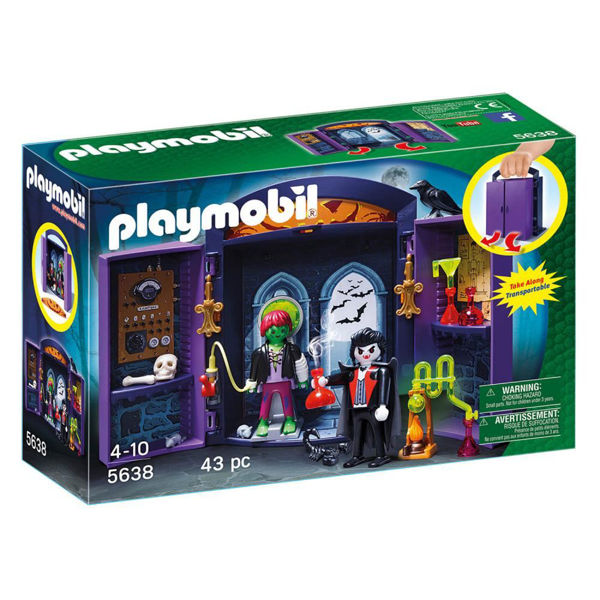 Playmobil Play Box Στοιχειωμένο Σπίτι (5638)