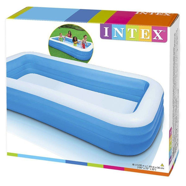Intex Πισίνα Οικογενειακή 305x183x56εκ (58484)