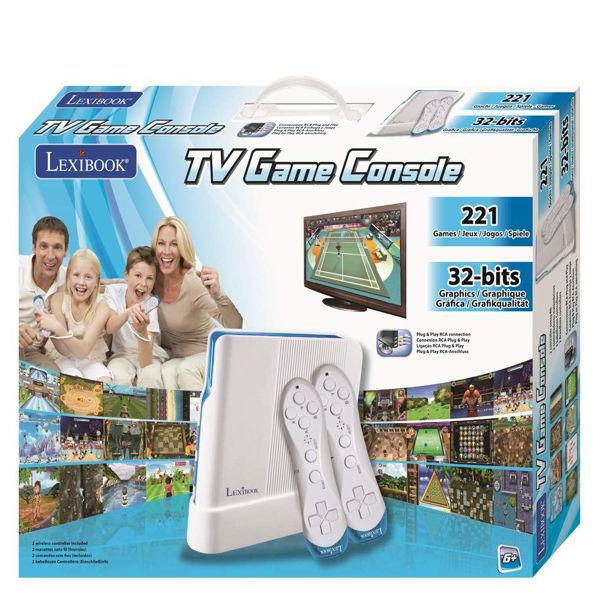 Lexibook TV Game Console (JG7425)