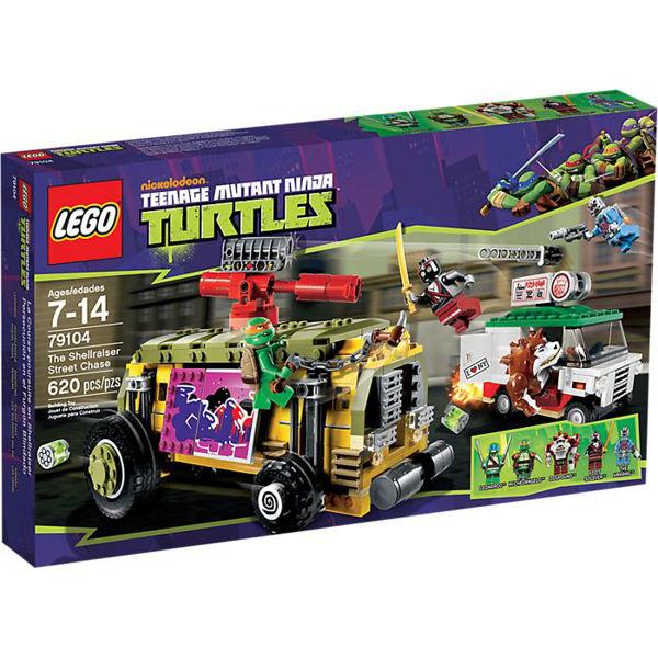 Lego Ninja Turtles The Shellraiser Street Chase (79104)