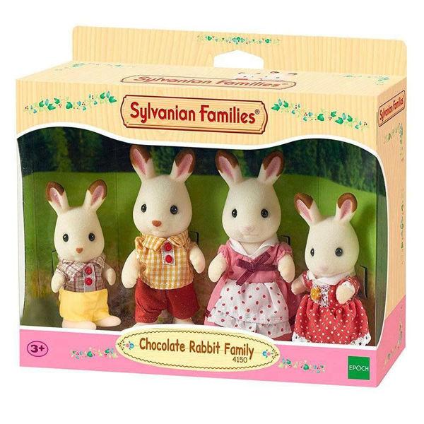 Sylvanian Families Chocolate Rabbit Family (4150)