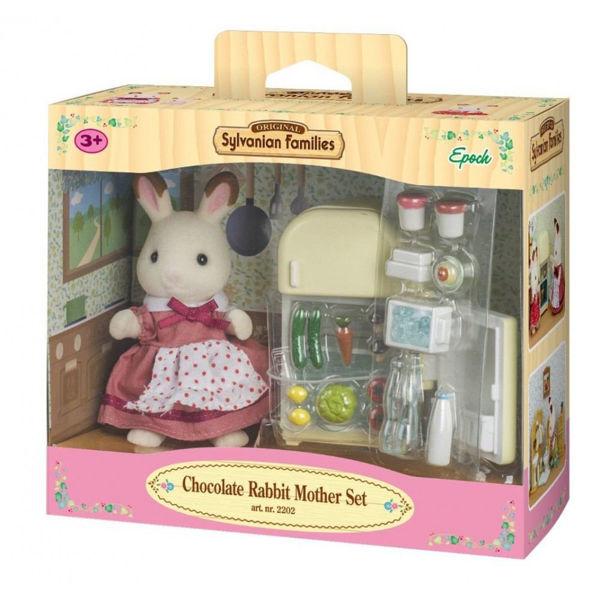Sylvanian Families Chocolate Rabbit Mother Set (5014)