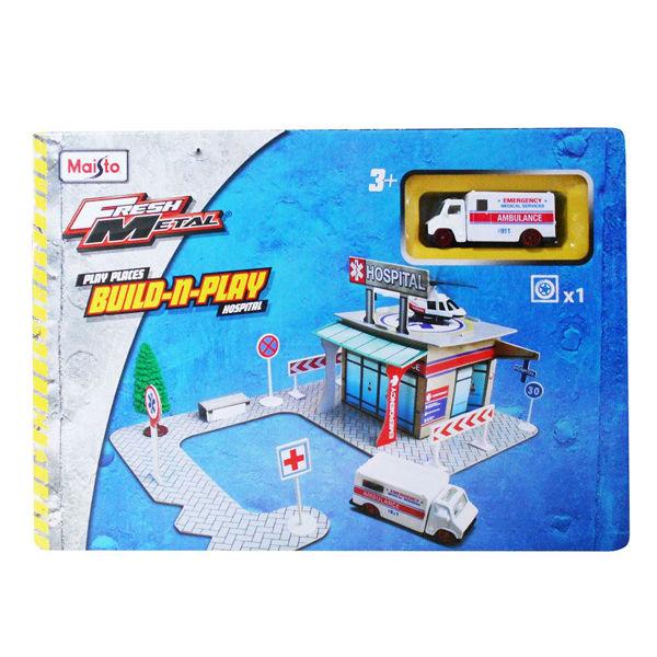 Maisto Πίστα Fresh Metal Paper City Kit (12520)