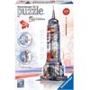 Ravensburger 3D Puzzle Empire State Building Flag Edition(12583)