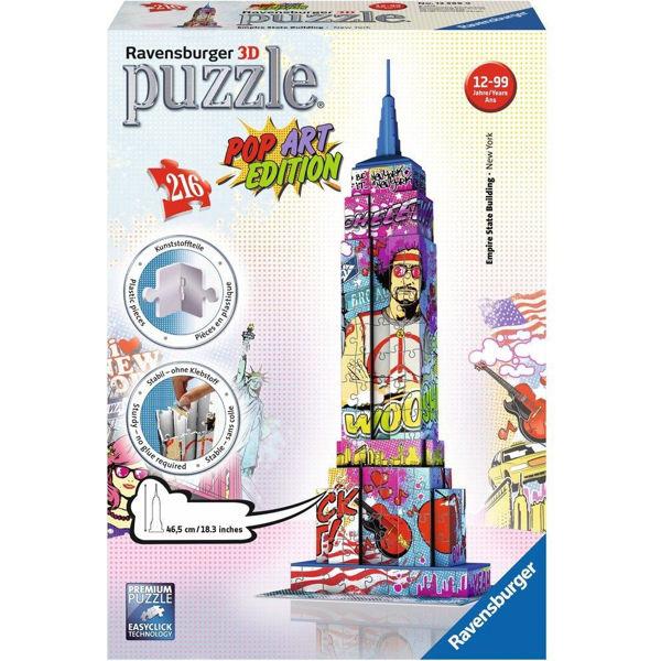 Ravensburger 3D Puzzle Empire State Building Pop Art (12599)