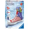 Ravensburger 3D Puzzle Sneaker American Flag (12549)
