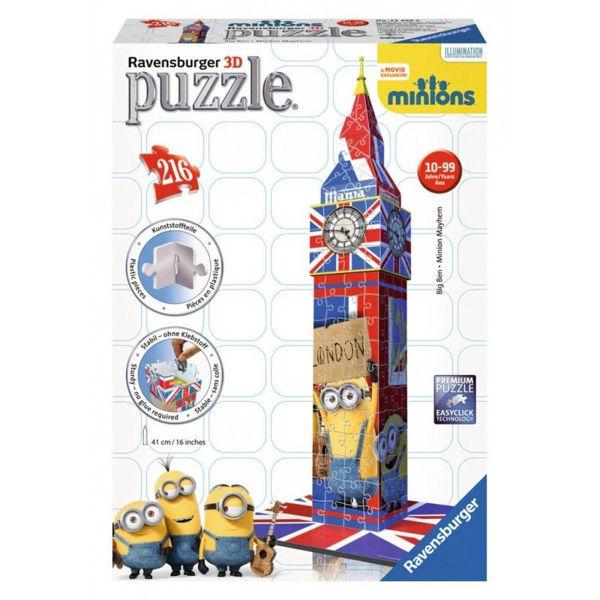 Ravensburger 3D Puzzle Big Ben Minion (12589)