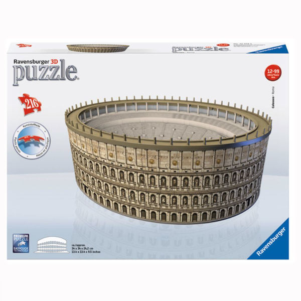 Ravensburger 3D Puzzle Κολοσσαίο (12578)