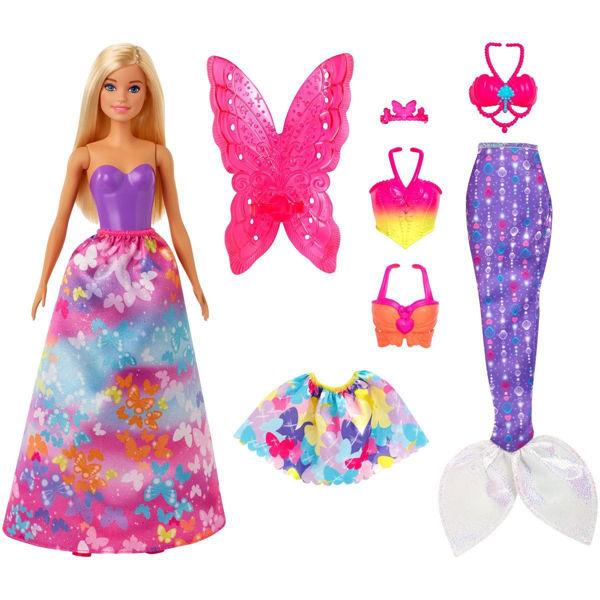Barbie Dreamtopia Παραμυθένια Εμφάνιση Σετ Δώρου (GJK40)